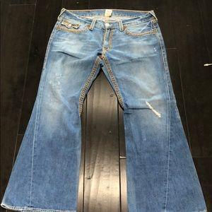 Men's true religion  Joey big t denim jeans